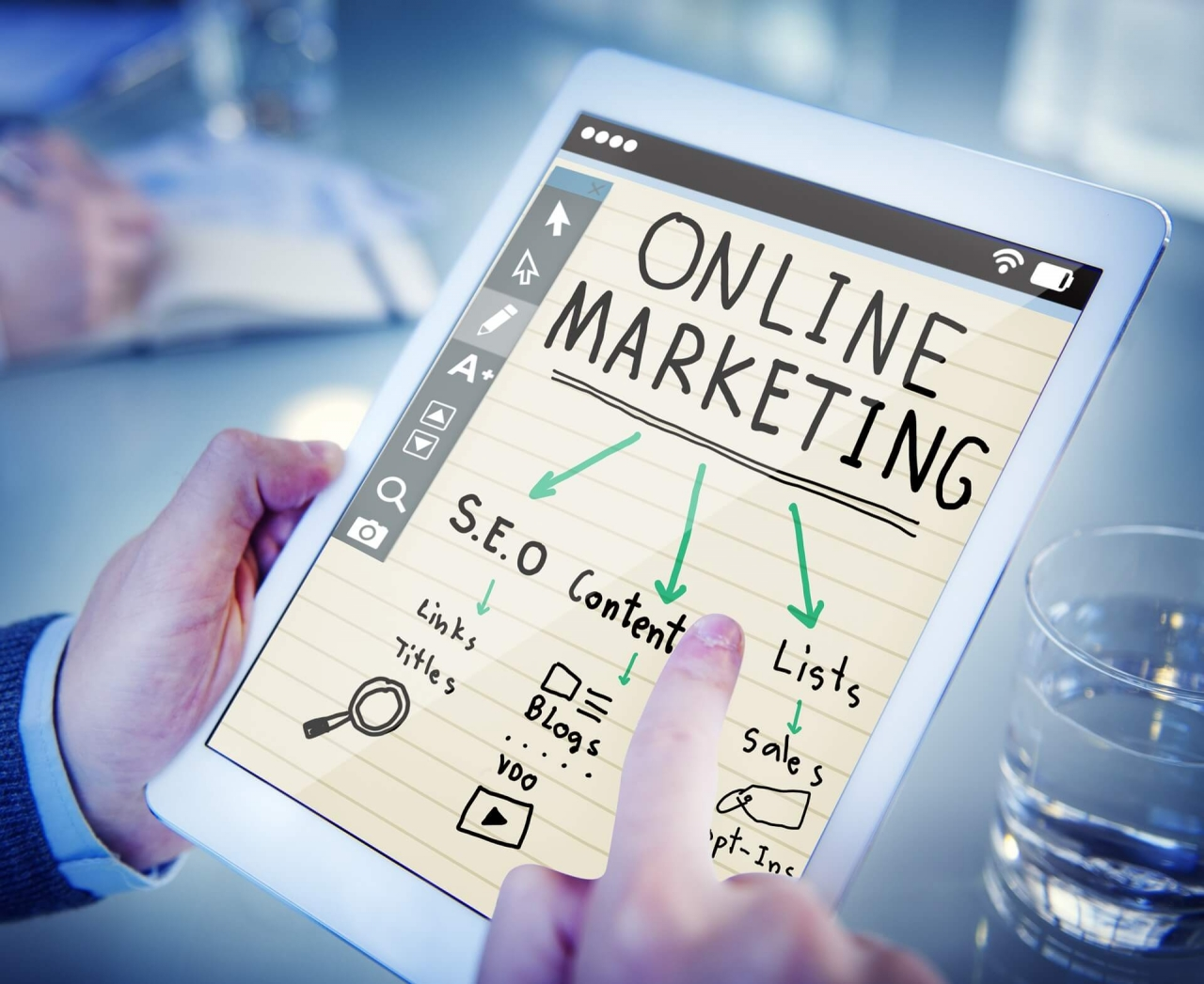 Online-marketing tanfolyam